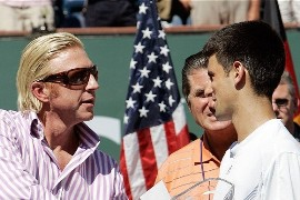 Becker y Djokovic
